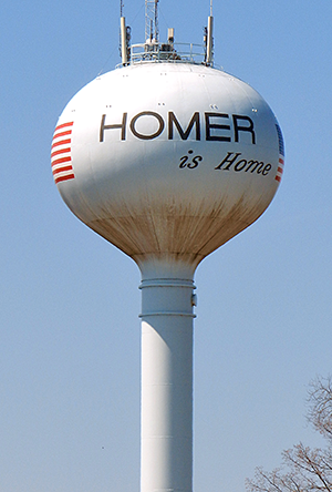 Homer Water Tower